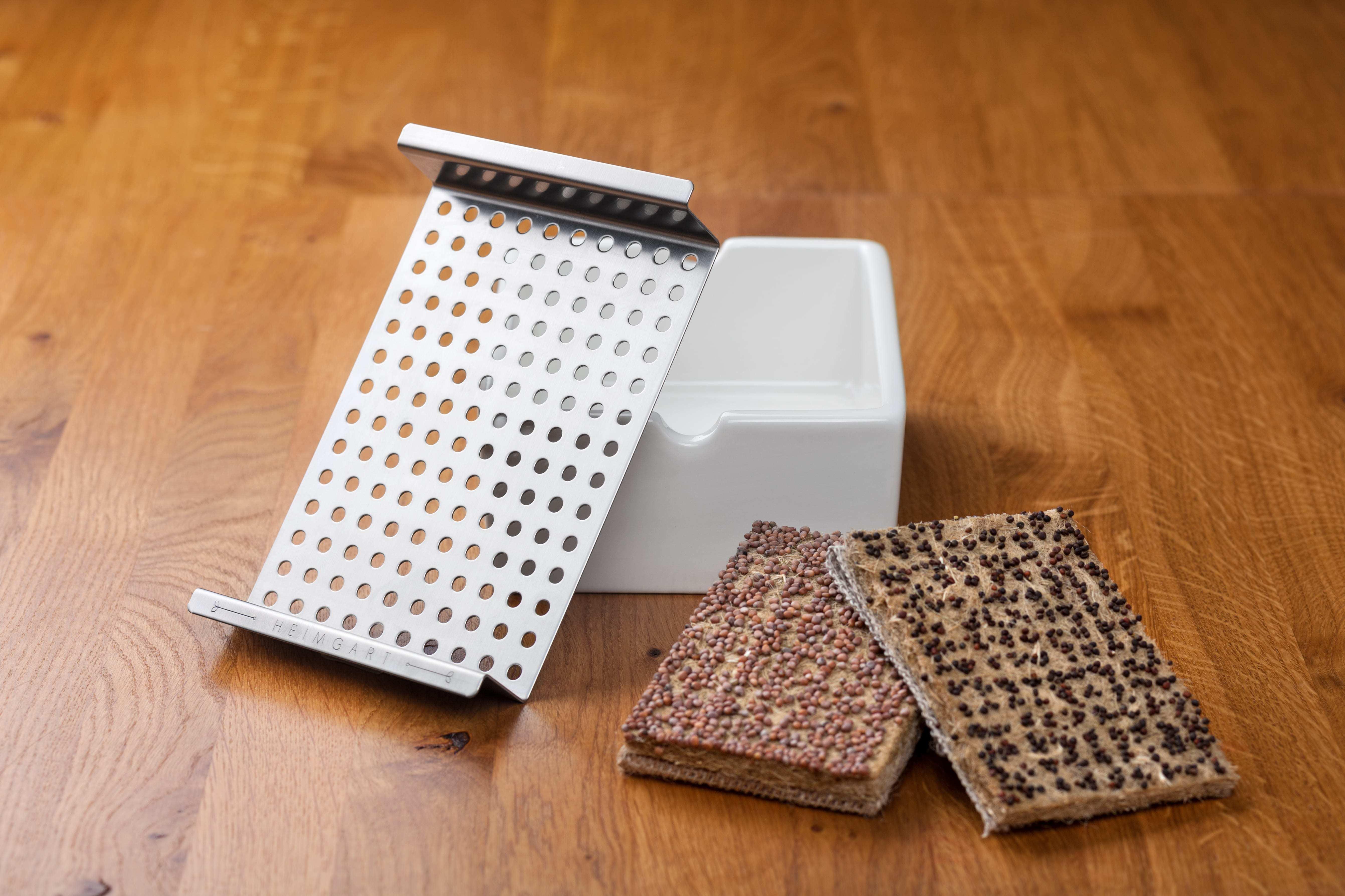Microgreens von HeimgartHeimgart Hardware - Keimschale, Saatpad & Gitter