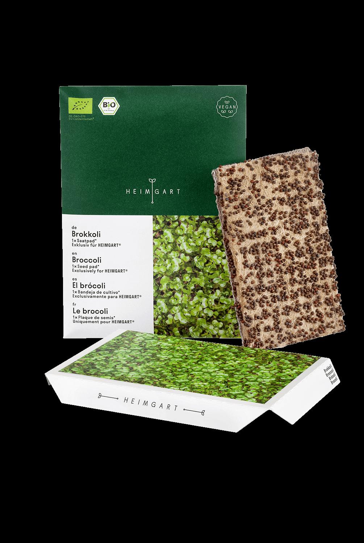 Brokkoli Saatpad von Heimgart - Bio-Saatgut
