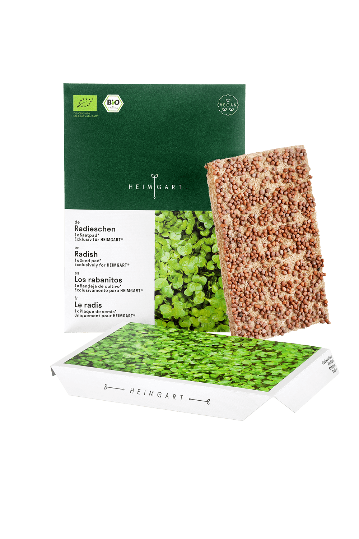 Radieschen Saatpad von Heimgart - Bio-Saatgut