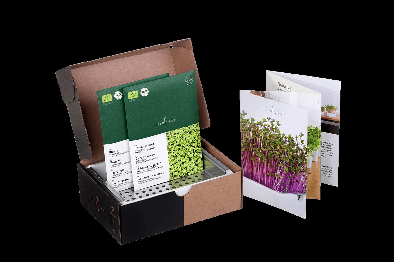 Heimgart Startkit für Microgreens