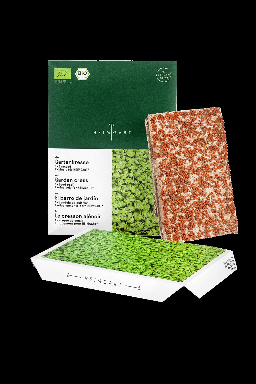 Gartenkresse Saatpads von Heimgart - Saatband