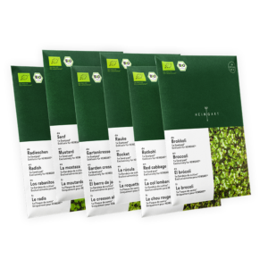 Microgreens Saatpad-Mix von Heimgart