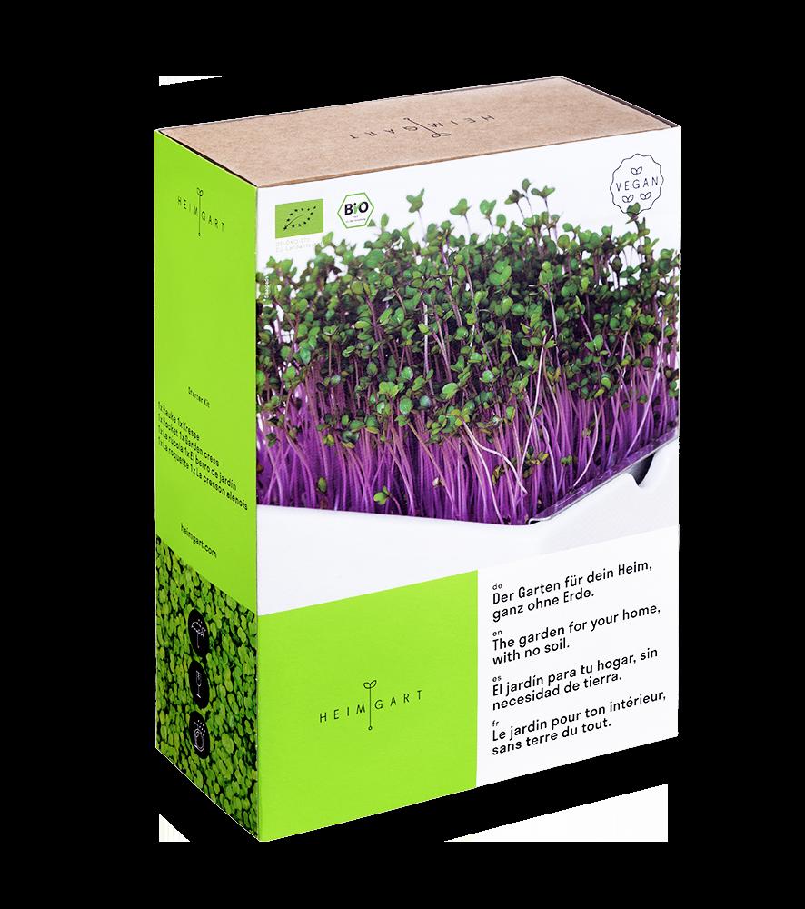 Heimgart microgreens starter kit