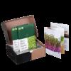 Heimgart Microgreens Porzellan-Keimschale mit Saatgutband und Gitter