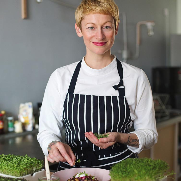 Sophia Hoffmann - Köchin für veganes Essen und Microgreens